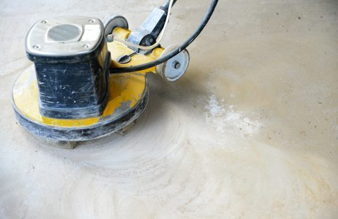 How to Grind a concrete wall